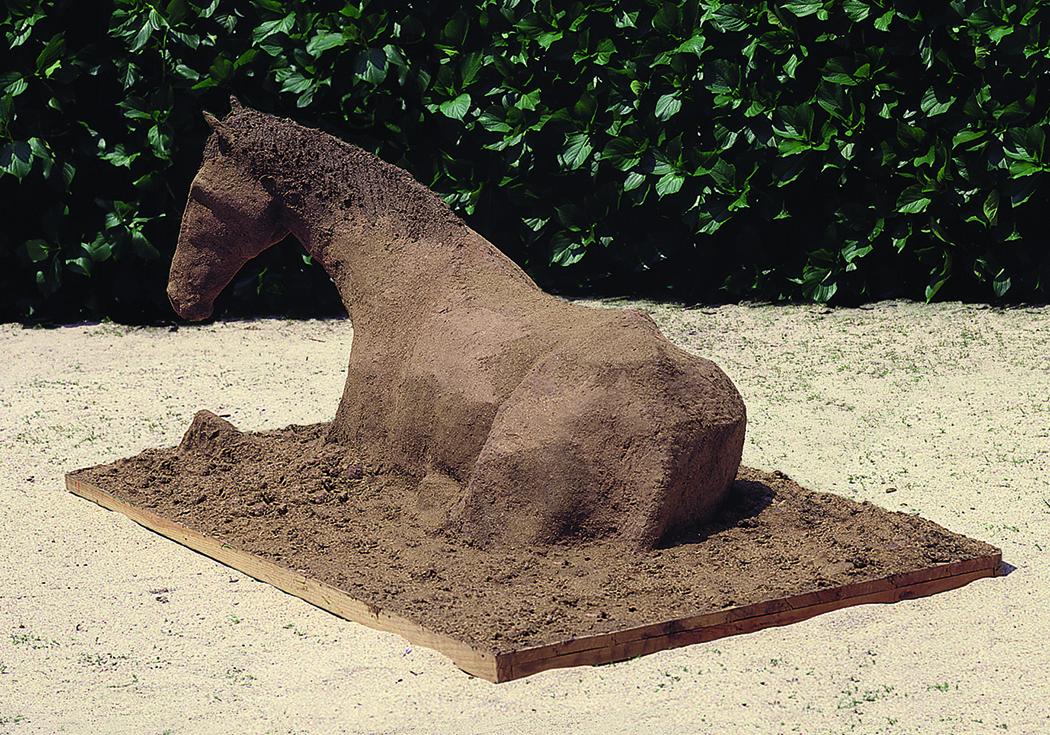 Caballo hecho con Bosta de caballo, 1986
