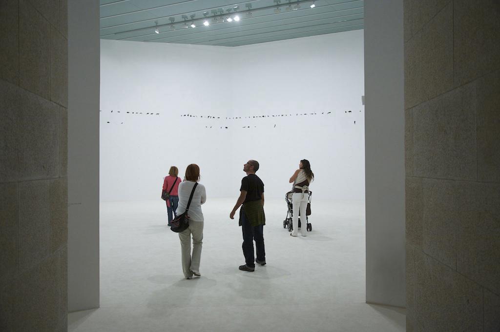 Instalación en la Fundación CALOUSTE GULBENKIAN / CAM. Lisboa, 2011.